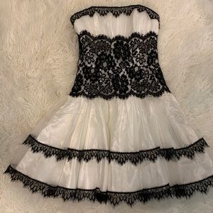DIY Maid Costume Black and White Formal Dress